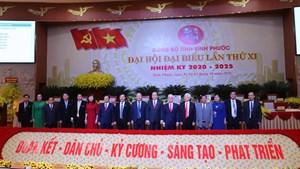 BẢN TIN MẶT TRẬN: Chủ tịch Trần Thanh Mẫn dự Đại hội Đảng bộ Bình Phước