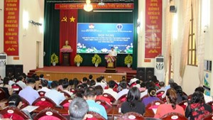 BẢN TIN MẶT TRẬN: Tập huấn về tuyên truyền công tác dân số cho cán bộ Mặt trận