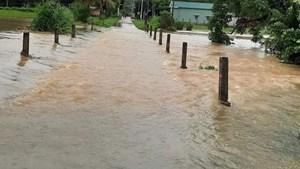 Bình Định: Nam thanh niên đi bắt cá bị nước cuốn mất tích
