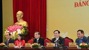 Bí thư Hà Nội Vương Đình Huệ: Chuyển biến căn bản với những vấn đề dân sinh bức xúc