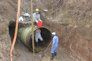 Hà Nội: Ngừng cấp nước sạch sông Đà đến 18h ngày 13/10
