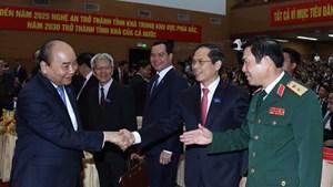 [ẢNH] Thủ tướng dự Đại hội đại biểu Đảng bộ tỉnh Nghệ An lần thứ XIX