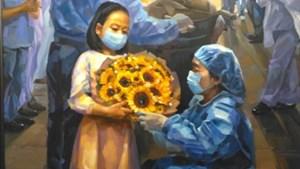 Triển lãm về Đà Nẵng trên tuyến đầu chống dịch