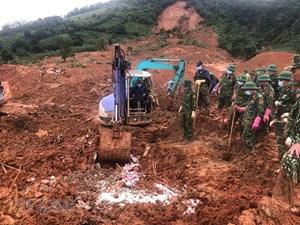 Đã tìm thấy 17 thi thể cán bộ, chiến sỹ Đoàn Kinh tế Quốc phòng 337