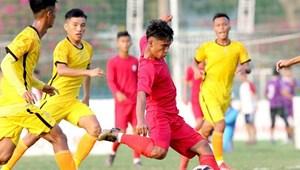 Tạm dừng lượt về giải Bóng đá vô địch U19 QG 2020