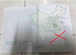 Yêu cầu Saigontourist giải trình về quảng cáo in hình 'đường lưỡi bò'