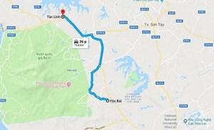 Hà Nội khởi công dự án nâng cấp đường Tản Lĩnh-Yên Bài