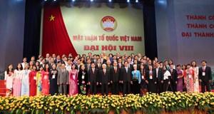 Chào mừng Đại hội đại biểu toàn quốc MTTQ Việt Nam lần thứ IX, nhiệm kỳ 2019-2024- Bài 8: Đại hội VIII: Đổi mới mạnh mẽ,  đáp ứng yêu cầu từ thực tiễn đời sống