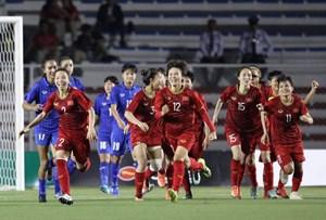 [VIDEO] Cận cảnh bàn thắng vàng của Hải Yến giúp ĐT nữ Việt Nam vô địch SEA Games 30