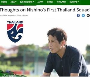Báo Thái dự đoán đội hình HLV Akira Nishino sử dụng để đấu tuyển Việt Nam