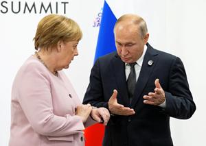 Tổng thống Nga điện đàm với Thủ tướng Đức về đường ống khí đốt