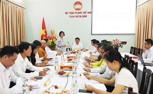 Gặp mặt đại biểu Đà Nẵng dự Đại hội MTTQ Việt Nam lần thứ IX