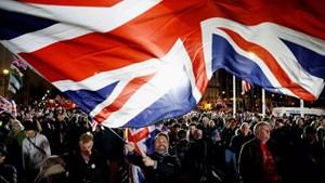 Nước Anh chính thức rời khỏi EU