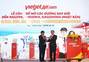 Vietjet mở thêm 5 đường bay tới Nhật Bản