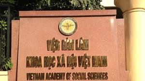 Viện Hàn lâm Khoa học Xã hội Việt Nam mở cửa trở lại từ ngày 16/3