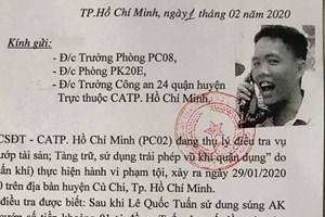 TP HCM: Truy tìm người giữ 1 tỷ đồng giúp kẻ xả súng cướp sới bạc khiến 4 người chết