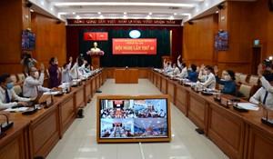 Thành ủy TP HCM tổ chức hội nghị lần thứ 40 trực tuyến