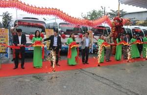 Khai trương tuyến Bus Huế - Đà Nẵng