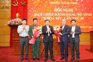 Quảng Ninh: Bổ sung 2 cán bộ vào Ban Thường vụ Tỉnh ủy