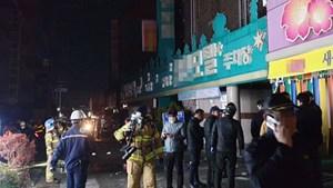 Hàn Quốc: Phóng hỏa tại khách sạn khiến nhiều người thương vong