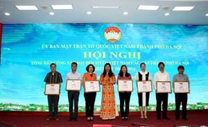 Hội nghị lần thứ II Ủy ban MTTQ Việt Nam TP Hà Nội nhiệm kỳ 2019-2024