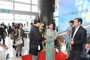 Hai chuyến bay từ Nhật Bản hạ cánh xuống sân bay quốc tế Vân Đồn