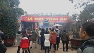 Nam Định: Dừng tổ chức Lễ hội khai ấn đền Trần