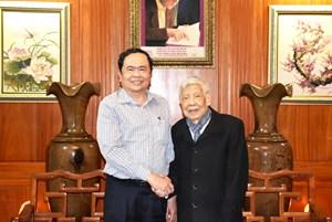 BẢN TIN MẶT TRẬN: Chủ tịch Trần Thanh Mẫn chúc Tết nguyên lãnh đạo Đảng, Nhà nước