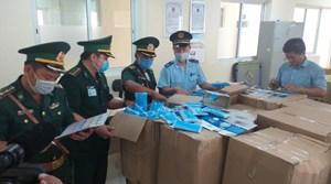 Bắt giữ vụ vận chuyển hơn 17.000 chiếc khẩu trang y tế sang Campuchia