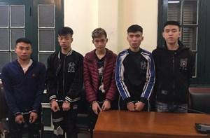 Hà Nội: Bắt ổ nhóm gây ra hàng loạt vụ cướp