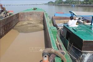 Cấp phép khai thác cát trên sông Đồng Nai