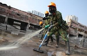 Phế thải nguy hại Công ty Rạng Đông được đưa về nơi xử lý an toàn