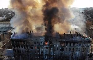 Hỏa hoạn tại Ukraine khiến 1 người chết và 26 người bị thương