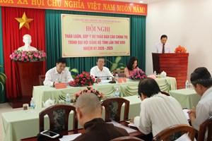 Khánh Hòa: Góp ý văn kiện Đại hội Đảng lần thứ XIII