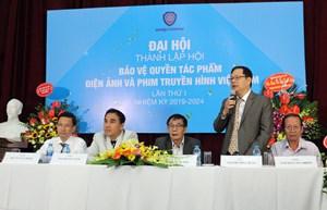 Đại hội thành lập Hội Bảo vệ quyền tác phẩm điện ảnh - truyền hình Việt Nam: Chưa bầu được chủ tịch Hội