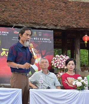 Nghệ sĩ Viết Liên hóa thân thành Lão Hạc trong phim 'Cậu Vàng'