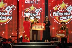 Cuộc thi 'Tiếng hát công nhân'