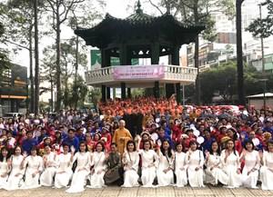 'Lễ Hằng Thuận tập thể' cho 50 cặp đôi khuyết tật có hoàn cảnh khó khăn, theo nghi thức Phật giáo