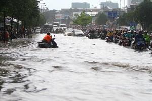 TP Hồ Chí Minh: Nhiều dự án chống ngập tiếp tục chậm tiến độ