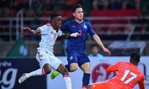 Thua Thái Lan khiến UAE e dè trước tuyển Việt Nam?