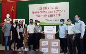 Thừa Thiên – Huế: Tập đoàn HBI trao tặng 300 nghìn khẩu trang kháng khuẩn phòng, chống dịch Covid-19