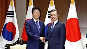 Căng thẳng Nhật - Hàn phủ bóng lên G20