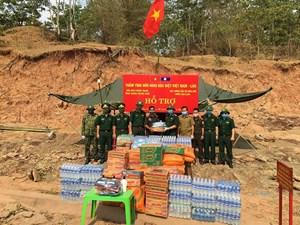 Thắm tình đoàn kết Việt - Lào