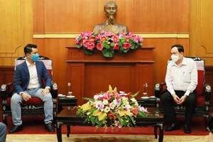 BẢN TIN MẶT TRẬN: Chủ tịch Trần Thanh Mẫn đã tiếp nhận ủng hộ phòng, chống dịch Covid-19 từ Công ty Casper Việt Nam