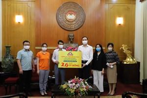 BẢN TIN MẶT TRẬN: Phó Chủ tịch Phùng Khánh Tài đã tiếp nhận ủng hộ phòng, chống dịch Covid-19
