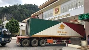 Đại sứ quán Trung Quốc họp báo về khôi phục giao thương Việt-Trung