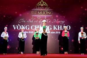 25 thí sinh vào chung kết Cuộc thi Người đẹp xứ Mường 2019