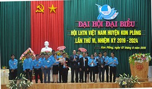 Kon Tum: Đại hội Hội LHTN Việt Nam huyện Kon Plông khóa VI