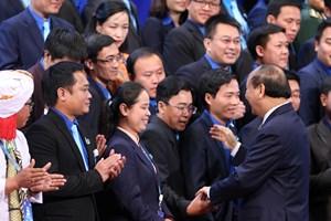 Thủ tướng và nhiều Bộ trưởng đối thoại với thanh niên