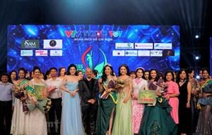 Đại diện VTV đoạt danh hiệu Hoa khôi Press Green Beauty 2019